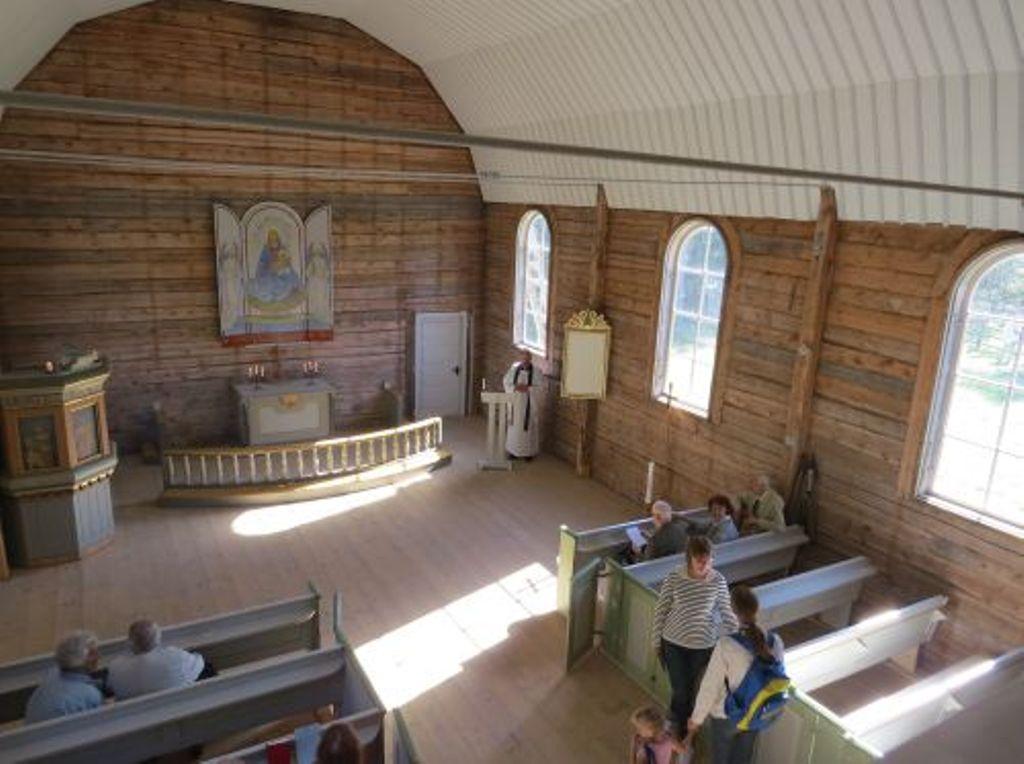 Maarja kiriku sisevaade, september 2014